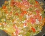 Зеленчуци в гювече 2