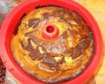 Сметанов кекс с шоколад и сливи 3