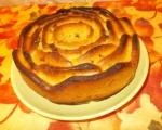 Сметанов кекс с шоколад и сливи 4
