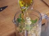 Разядка със соеви кълнове и сусамов тахан 2