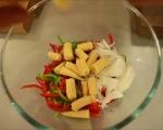 Пъстри зеленчуци с гъби и ориз 3