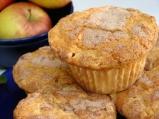 Мъфини с ябълки и орехи