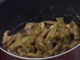 Вегетарианска яхния от зелен фасул и печурки 2