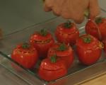 Пълнени домати с ориз  4