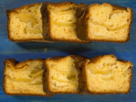 Лесен кейк с ябълки