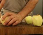 Лесен кейк с ябълки  3
