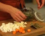 Ринд флайш с пюре от картофи 2