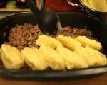Ринд флайш с пюре от картофи 5