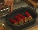 Пълнени чушки с кайма и ориз 7