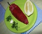 Картофени кюфтенца на фурна с печен лук и сос от печени червени пиперки 17