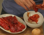 Супа от царевица и червени чушки 6