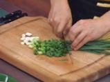 Огретен с картофи и сирене тофу