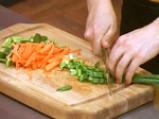 Зелеви сарми с печурки и соеви кълнове 2