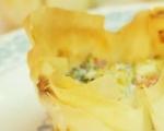 Кошнички със сирене и броколи