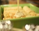 Палачинки с праз и сирена 10