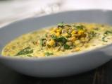 Супа от леща със сметана и спанак