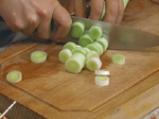 Чорба от праз лук със сирене