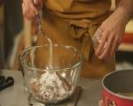 Шоколадова торта с тиква и карамелен крем 2