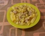 Задушени картофи със свинско месо 6