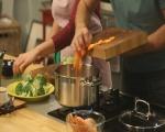 Супа от броколи с топено сирене 2