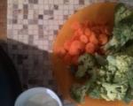 Броколи с ориз и зеленчуци