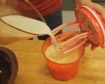 Кекс със сушени смокини, мед и орехи 2