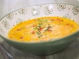 Супа от картофи и печени чушки