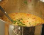 Супа от картофи и печени чушки 6