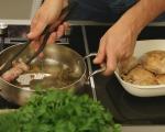 Пиле в медено-балсамов сос 4