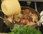 Пиле в медено-балсамов сос 5