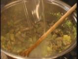 Супа от праз и гъби 2