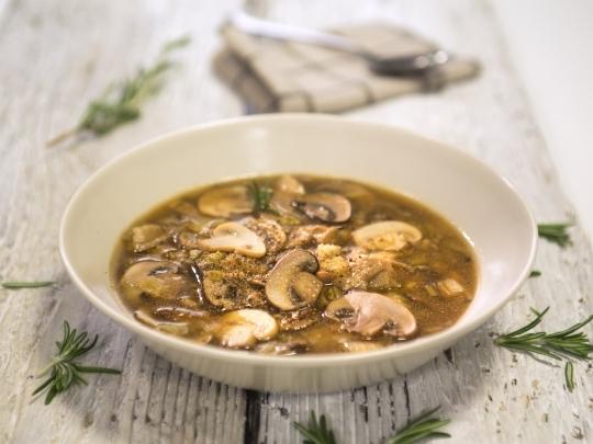 Лесна гъбена супа