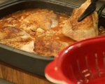 Пилешко с ориз и фъстъци 8