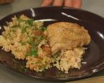 Пилешко с ориз и фъстъци 10