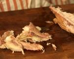 Зимна салата с пушена скумрия 3