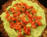 Картофени тиганици с авокадо и чушки 11