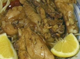 Лимонено пиле с къри