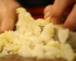 Печени картофи с плънка от кисело зеле 4