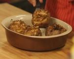 Печени картофи с плънка от кисело зеле 9