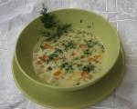 Супа от тиквички, картофи, моркови и пресен лук 7