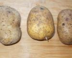 Пълнени печени картофи
