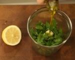 Кускус с карфиол и маслини 4