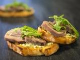 Сандвич с телешки език