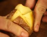 Печени картофи с плънка от гъби 8