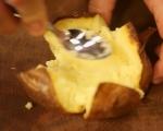 Печени картофи с плънка от гъби 9