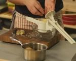 Запечено картофено пюре с кисело зеле