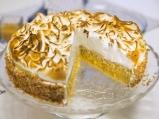 Бобена торта с дюлев крем