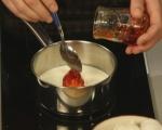 Бобена торта с дюлев крем 7