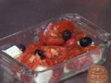 Сирене с чушки и домати на фурна 3