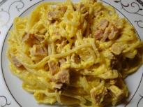 Спагети с яйца